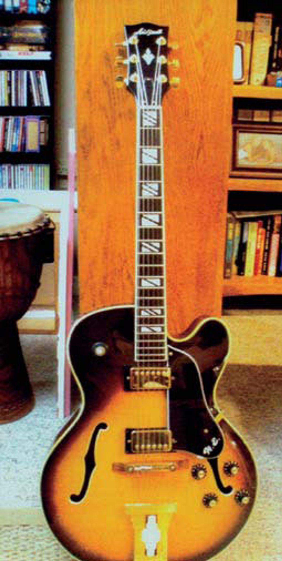 "Aria Pro II ""Herb Ellis"" Model TE 175: Prototype or First Production Model?"