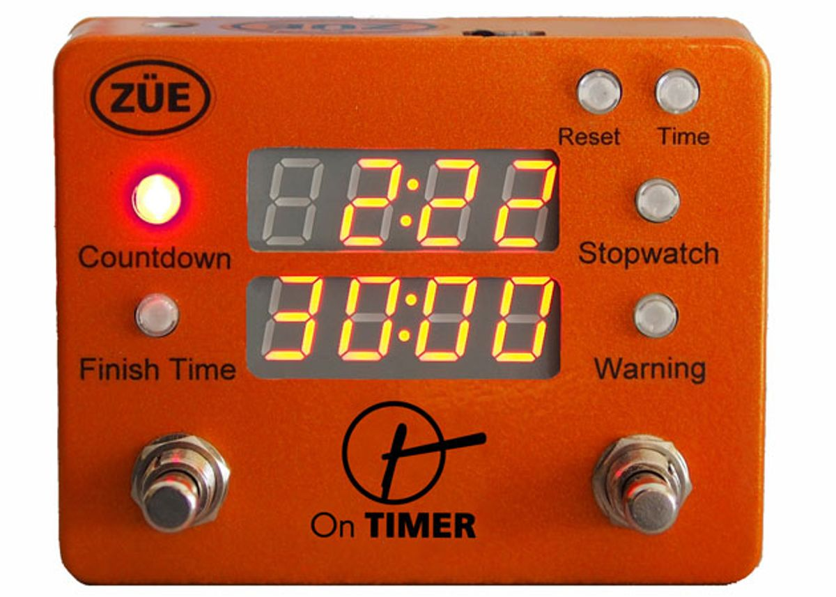 ZÜE Engineering Releases the On Timer Pedalboard Clock