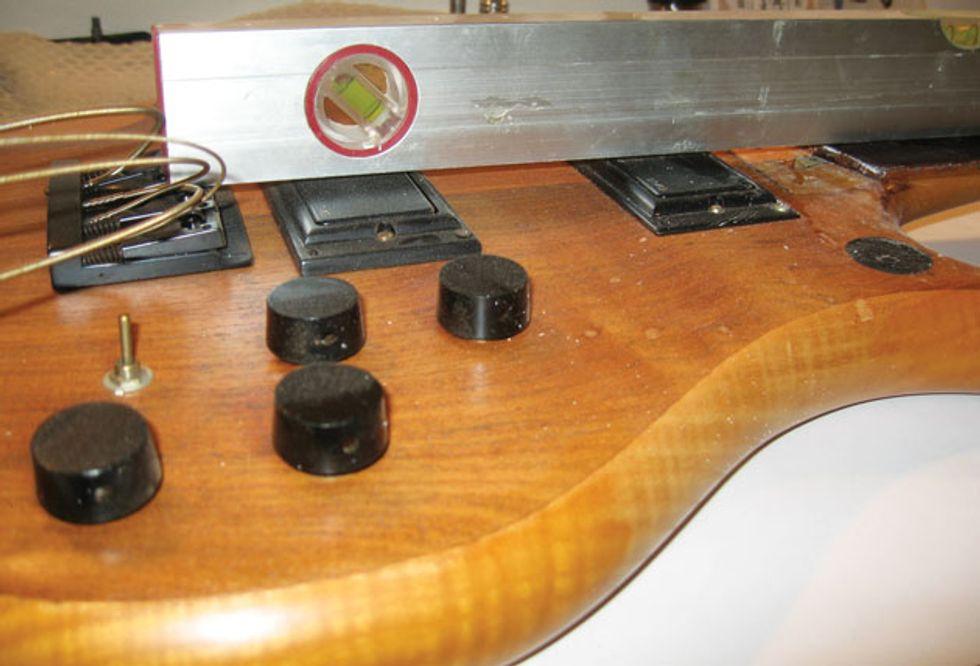 bass bench diy fretless conversion premier guitar. Black Bedroom Furniture Sets. Home Design Ideas