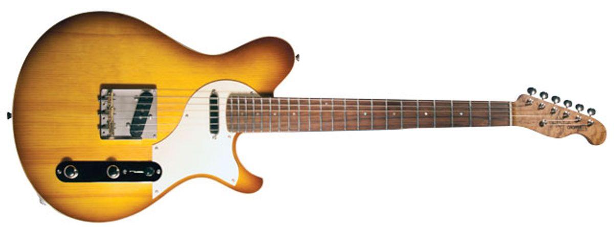 "Jason Z. Schroeder Chopper TL ""T-Pine"" Electric Guitar Review"