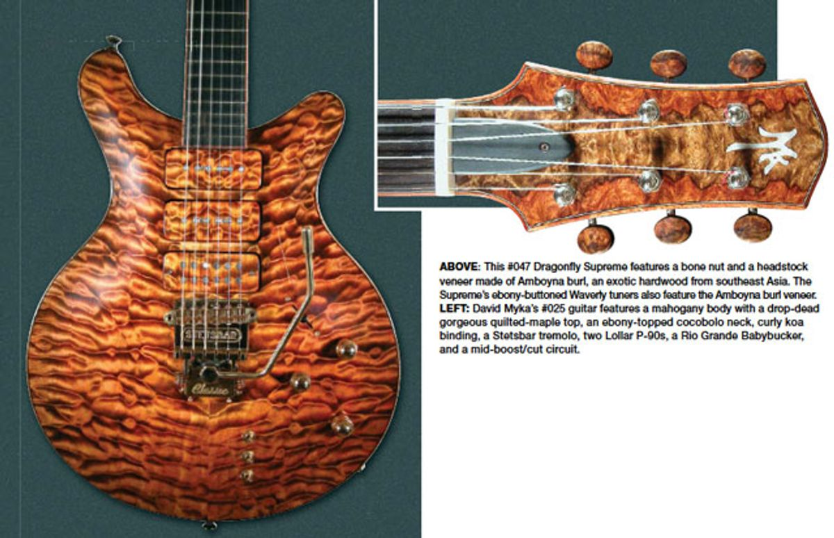 Builder Profile: David Myka Custom Guitars