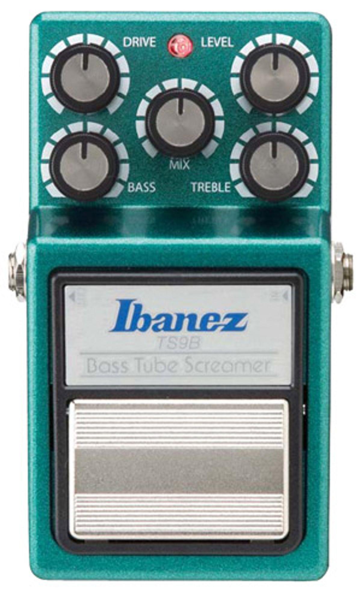 Ibanez TS9B Bass Tube Screamer Pedal Review