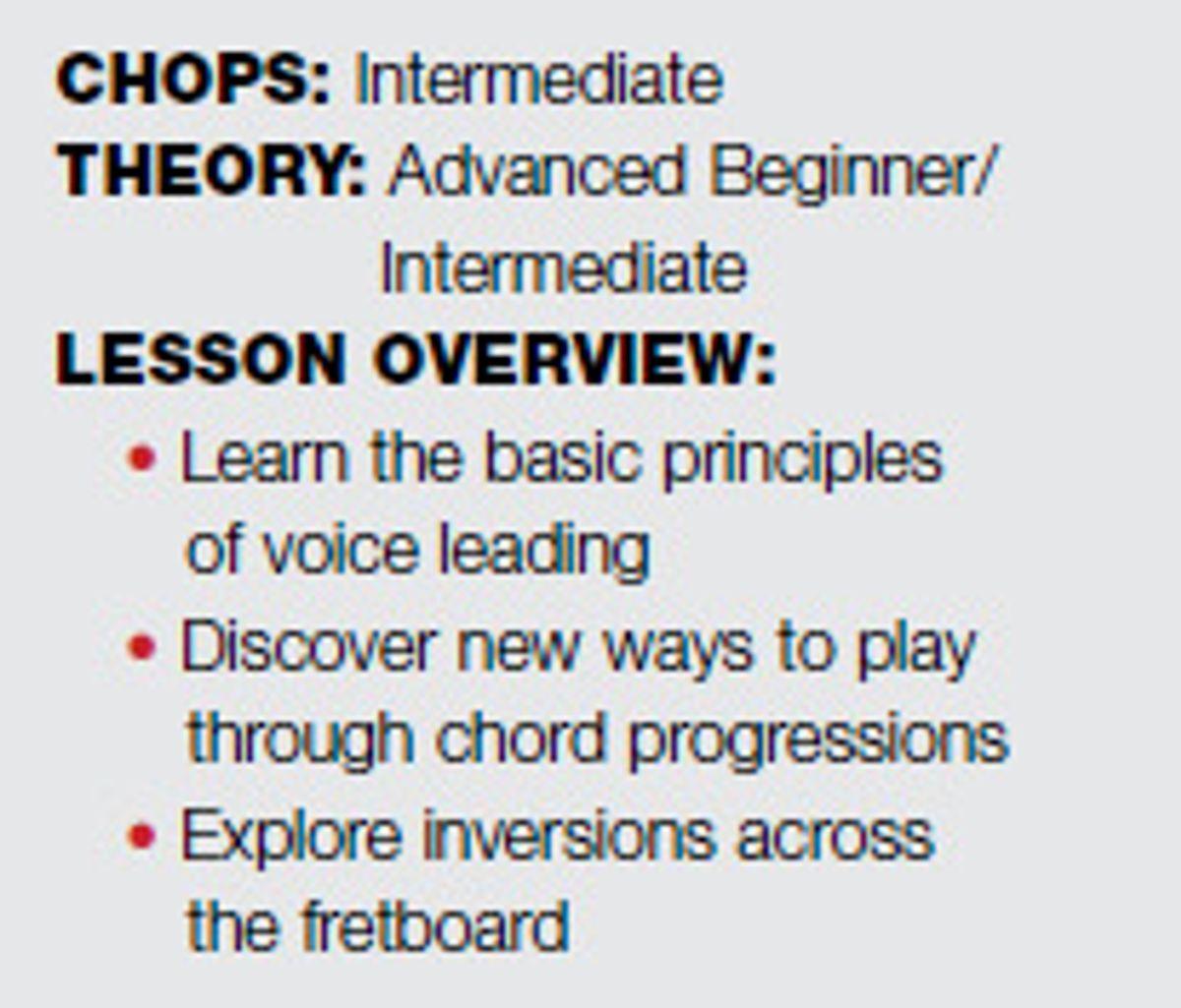 Fretboard Workshop: Connecting Chords