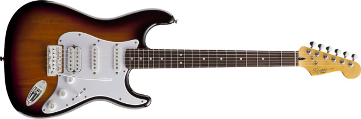 Squier by Fender Introduces the Strat Guitar with USB and iOS Connectivity