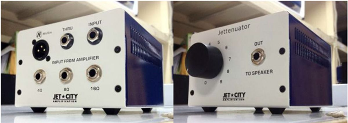 Jet City Amplification Introduces the Jettenuator