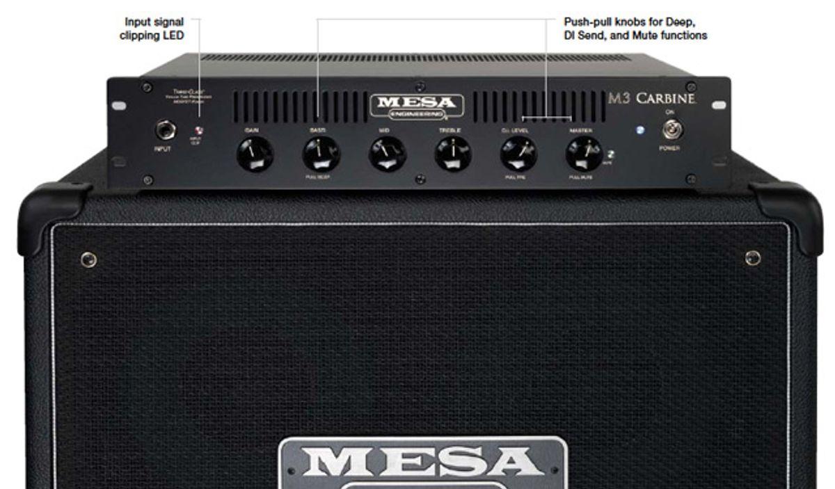 Mesa/Boogie M3 Carbine Bass Amp Head Review