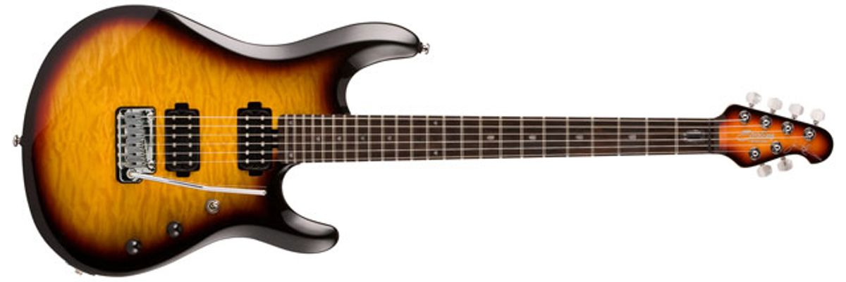 Sterling by Music Man Announces John Petrucci Signature Model Finish and Pricing Changes