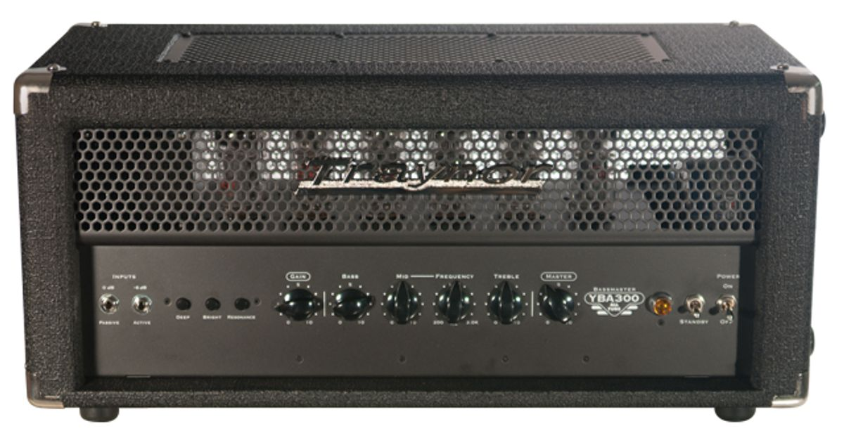Traynor YBA300 Bass Amplifier and TC810 Bass Cab Reviews