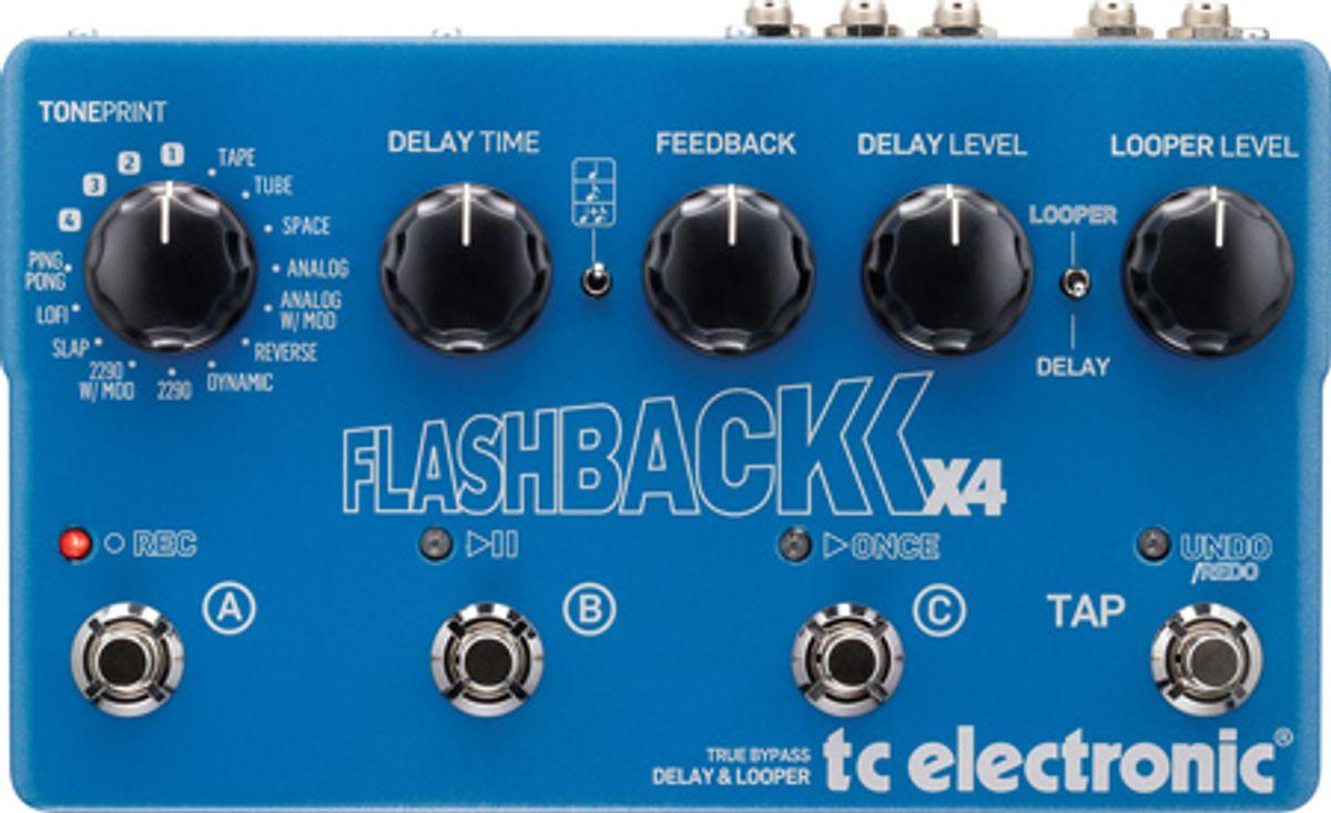 TC Electronic Flashback X4 Pedal Review
