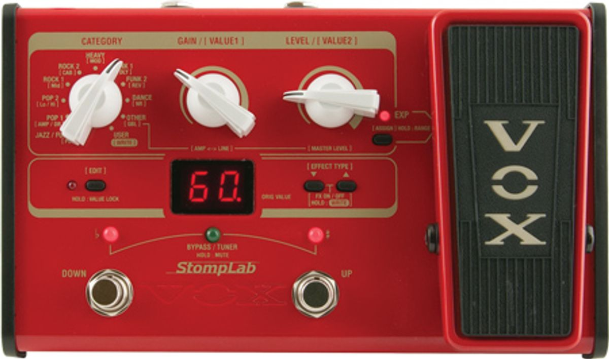 VOX StompLab IIB Pedal Review
