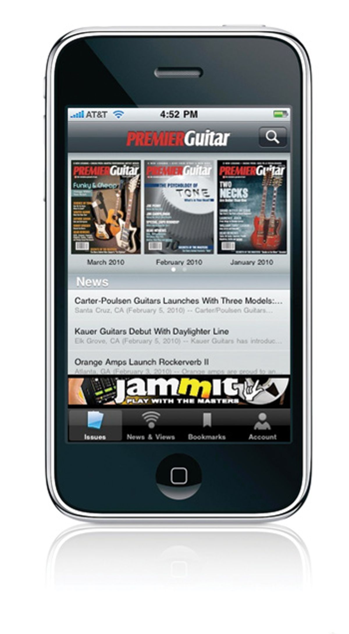 Introducing the Premier Guitar iPhone and iPod Touch App