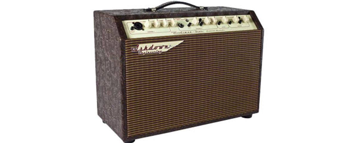 Ashdown Releases the Woodsman Line of Acoustic Amps
