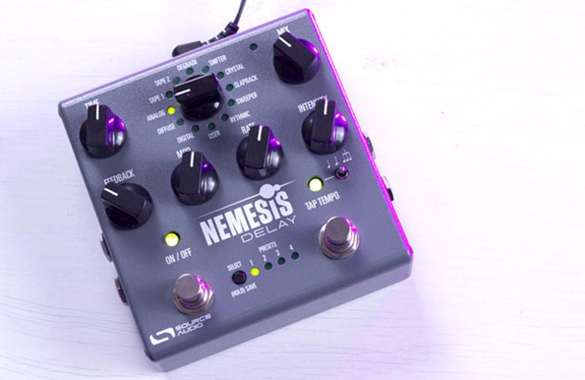 Source Audio Unveils the Nemesis Delay