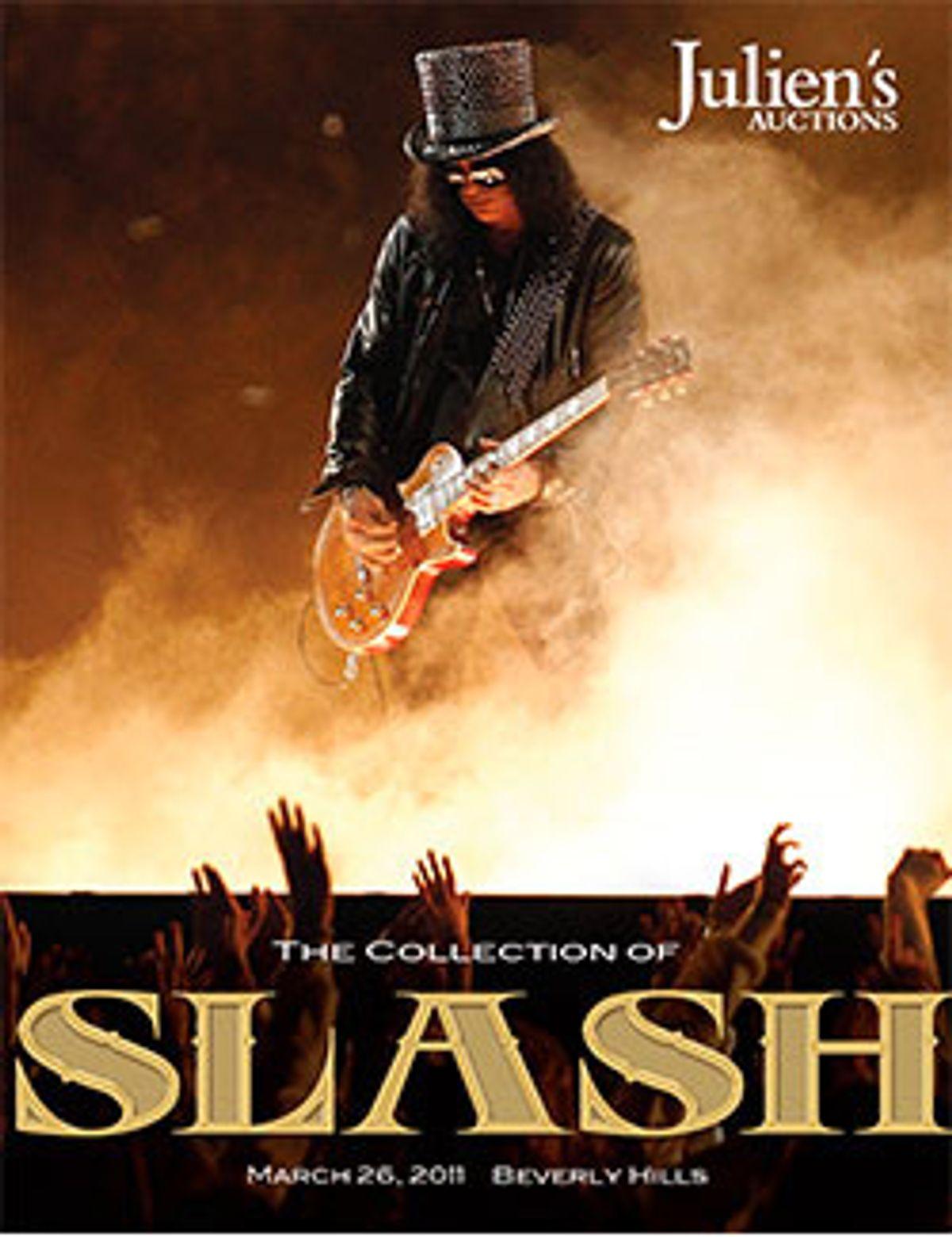 Julien's Auctions Announces Auction of Slash Collection