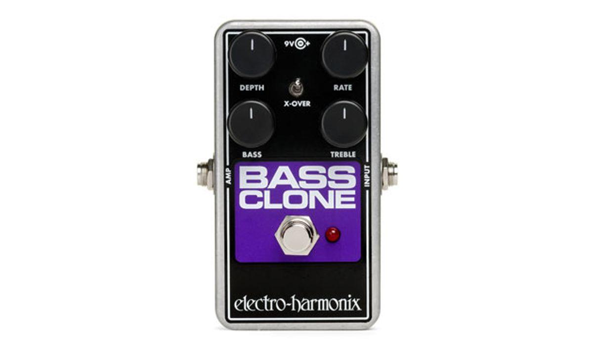 Electro-Harmonix Introduces the Bass Clone Chorus Pedal