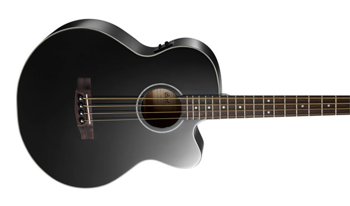 Cort Guitars Releases the AB850F Acoustic Bass
