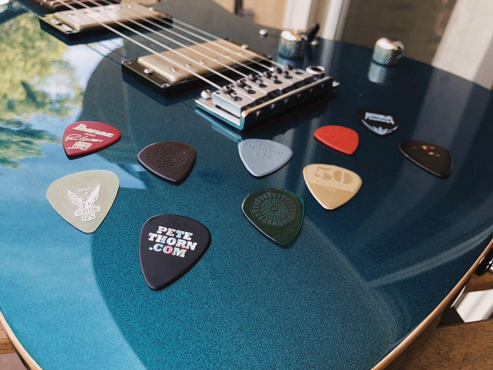 Clayton Picks CMS//3 Guitar Pick