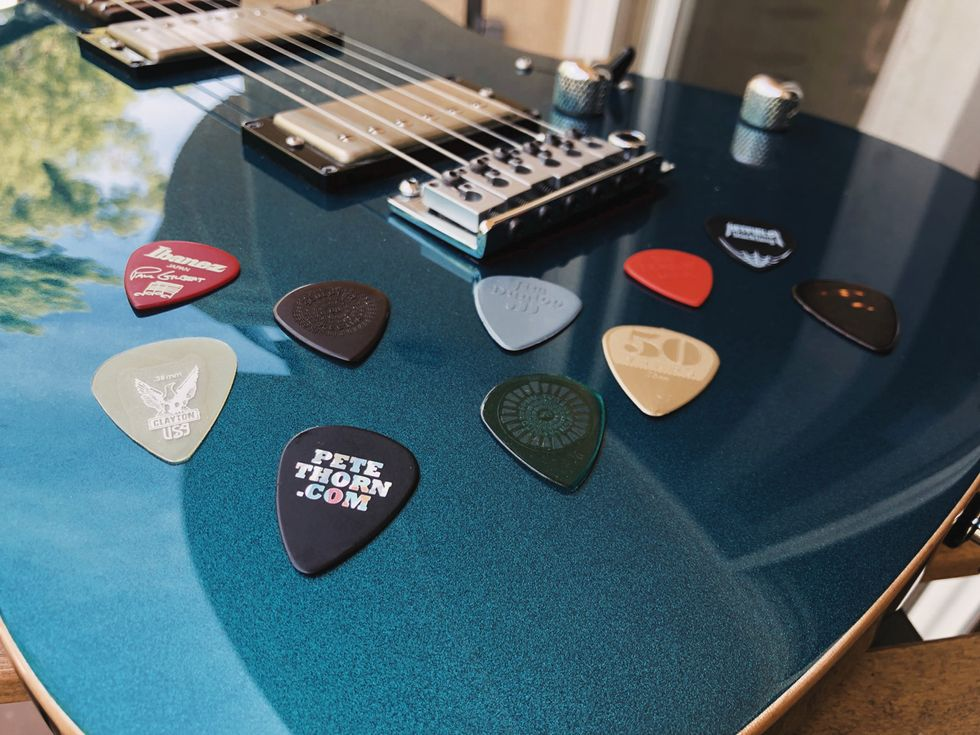 Tone Tips: Different Picks for Different Licks