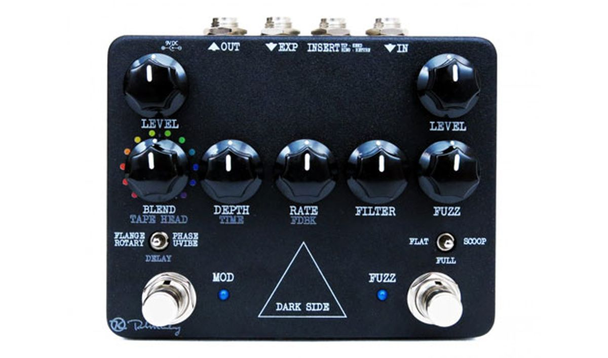 Keeley Electronics Unveils the Dark Side