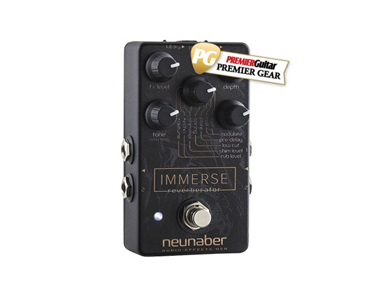 Neunaber Audio Effects Immerse Reverberator Review