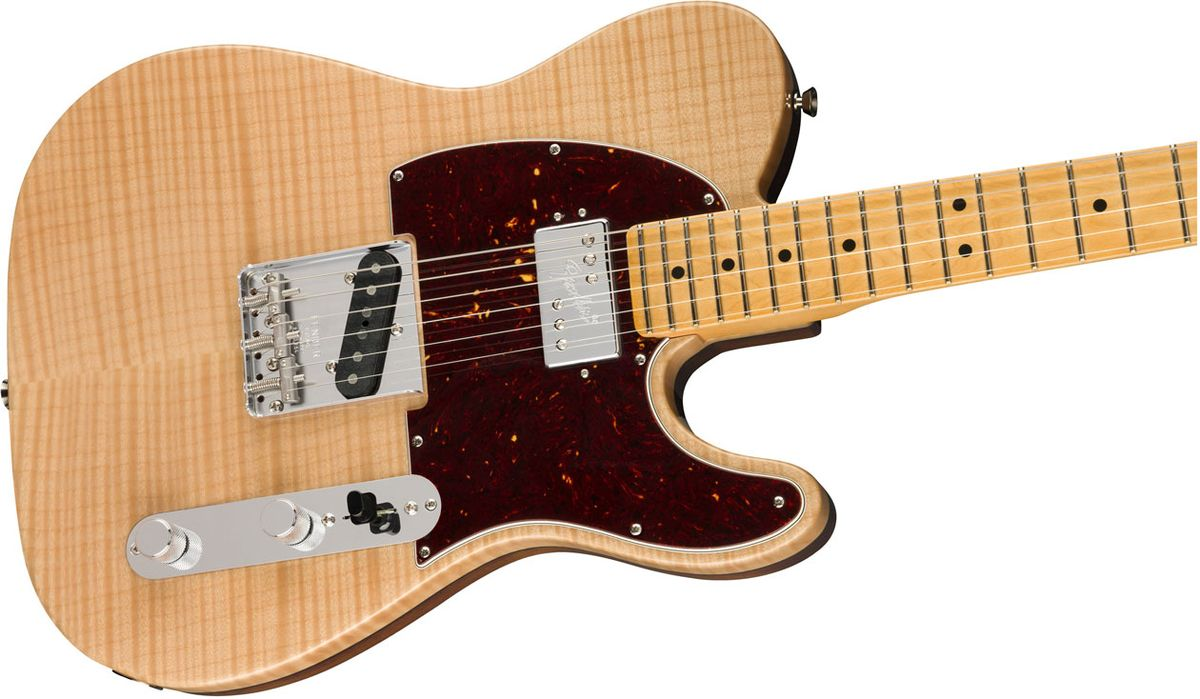 Fender Unveils the Rarities Series Chambered Flame Top Telecaster