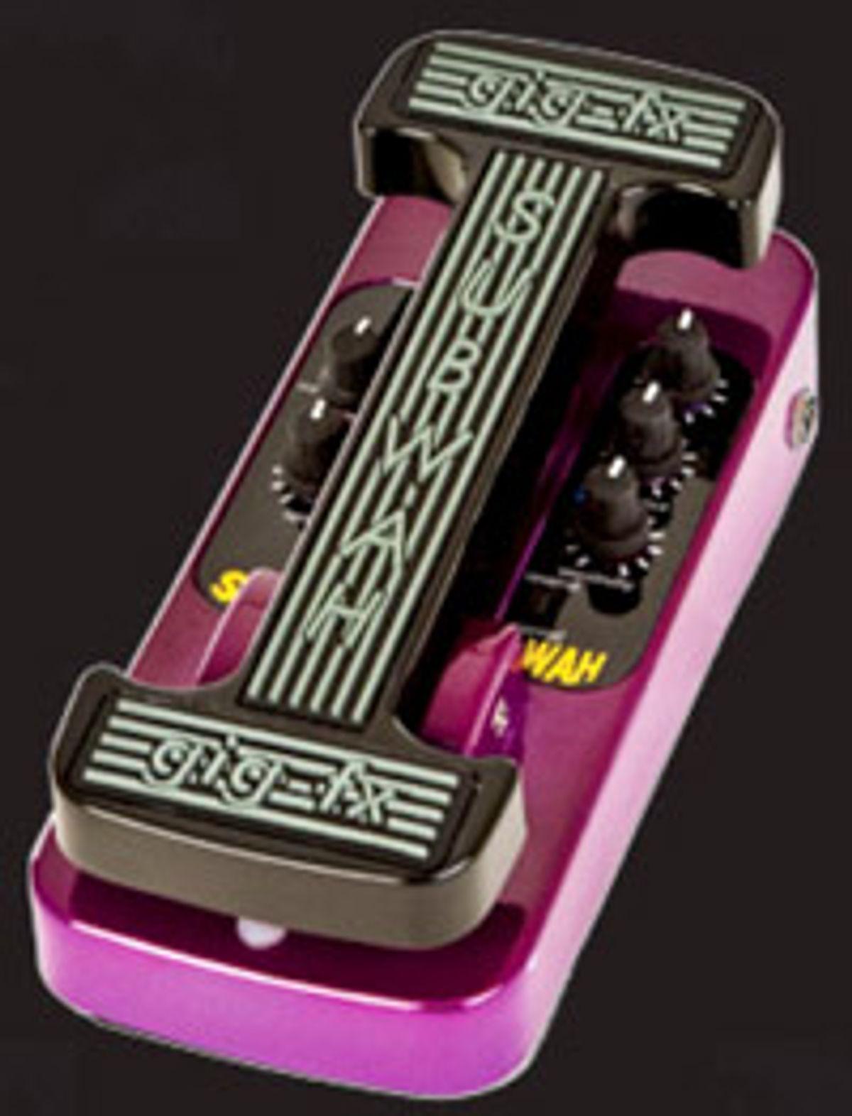 Gig-Fx Announces SubWah for Bass