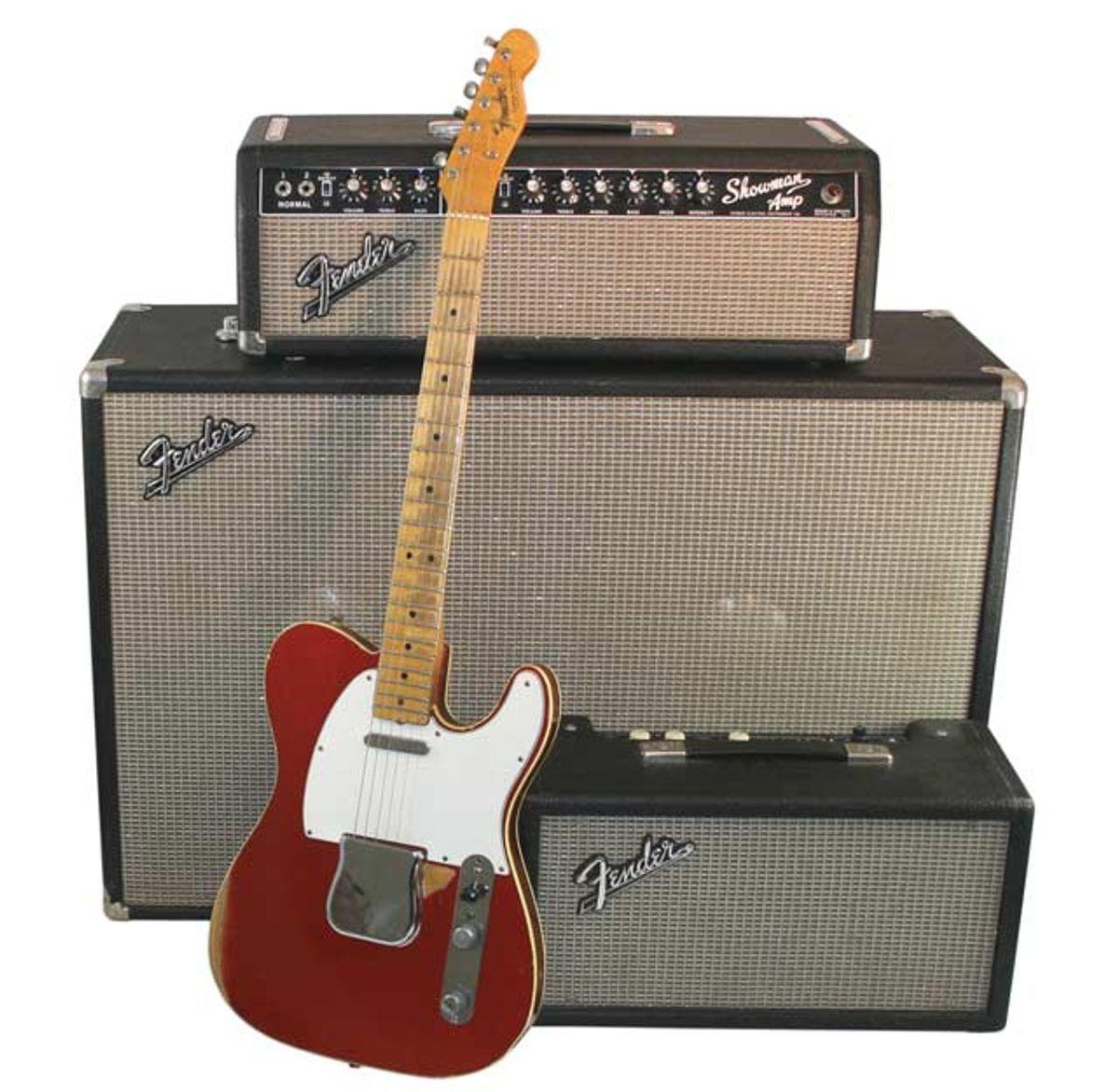 1966 Fender Telecaster: Custom Candy Apple Red