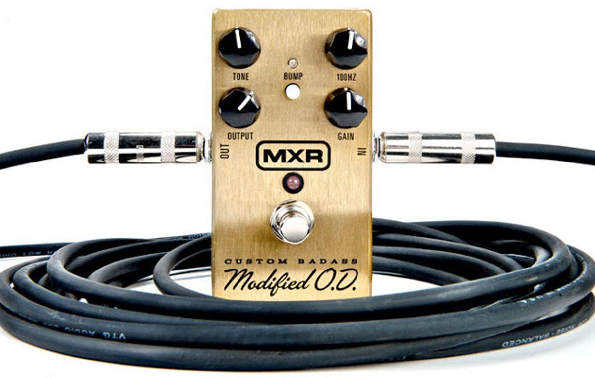 Jim Dunlop Announces the MXR Custom Badass Modified Overdrive