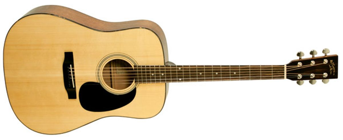 Recording King Introduces the All-Solid RD-310 Acoustic Guitar