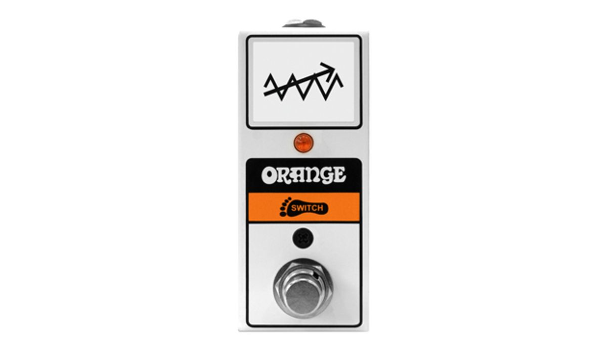 Orange Amps Launches the FS1 Mini Footswitch