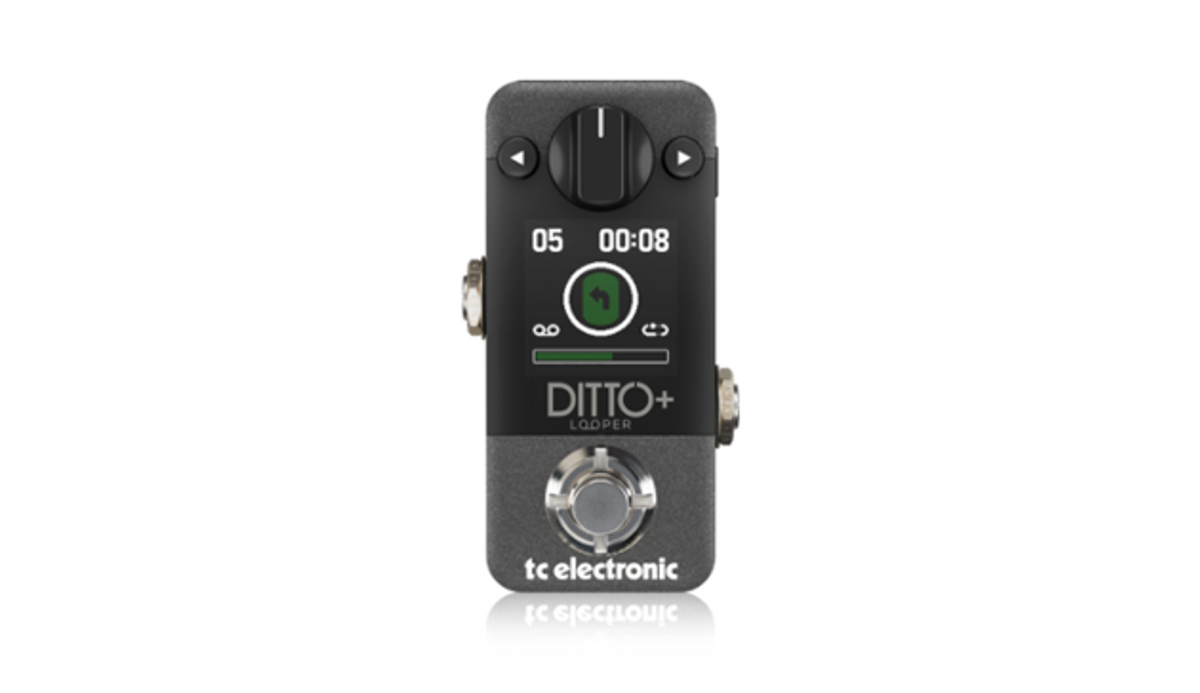 TC Electronic Introduces the Ditto+ Looper