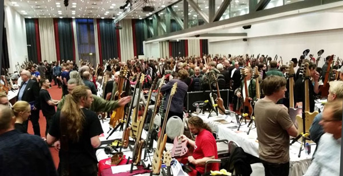 The Holy Grail Guitar Show: Going Boutique in Berlin