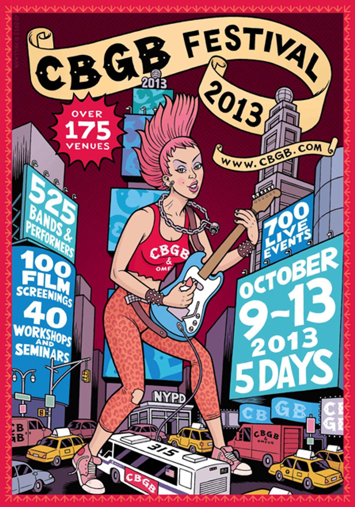 CBGB Celebrates 40th Anniversary with the CBGB Music and Film Festival