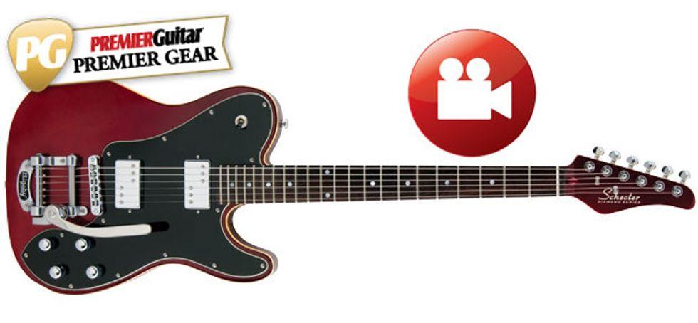 Schecter Pt Fastback Ii B Review Premier Guitar