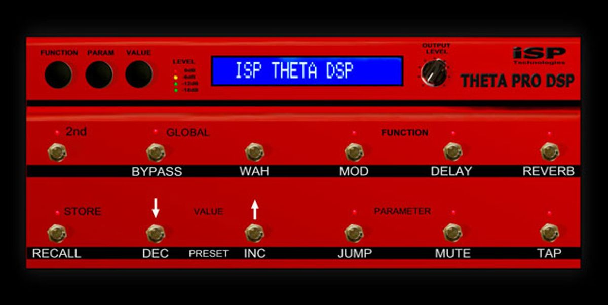 ISP Technologies Introduces the Theta Pro DSP