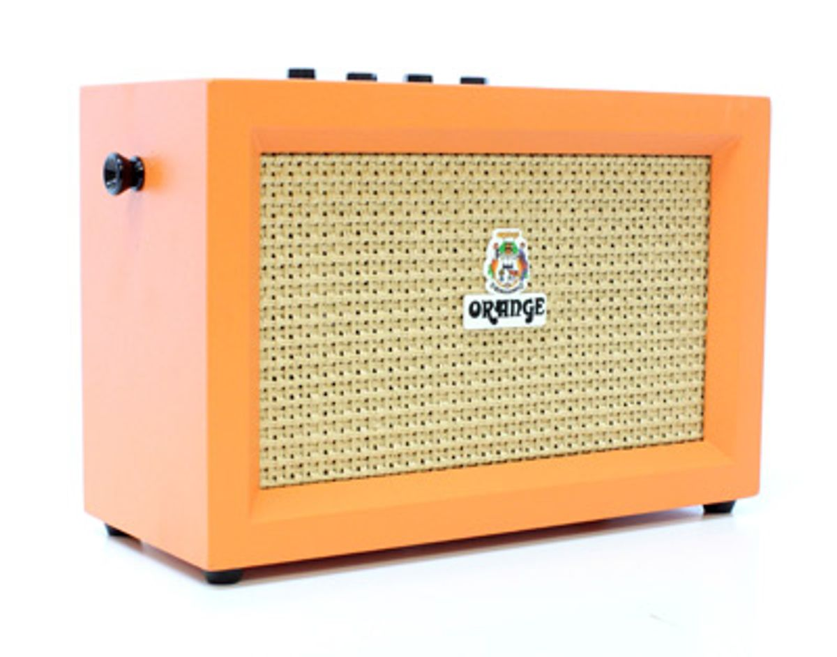Orange Amps Expand Crush PiX Amps With Bass Combo, Stereo Micro Crush