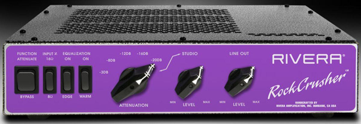 Rivera Unveils RockCrusher Power Attenuator/Load Box