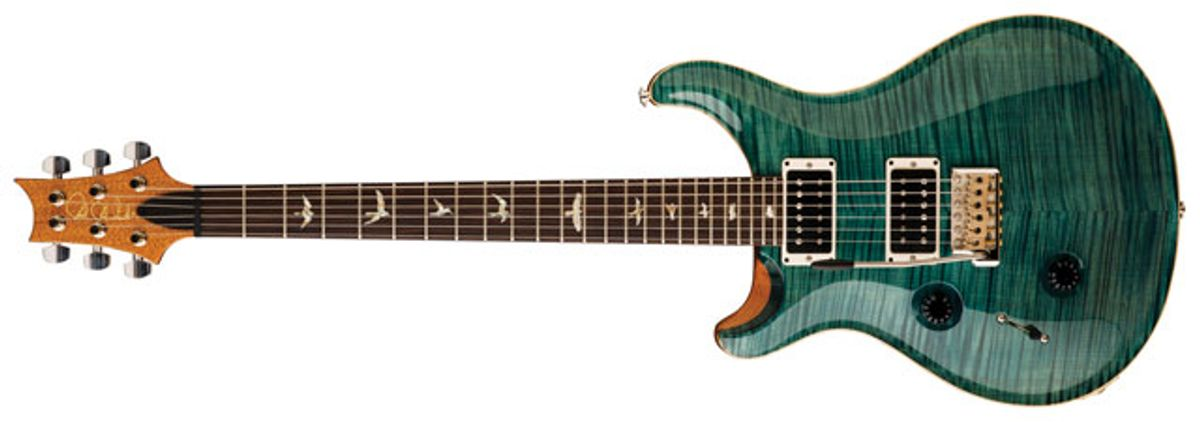 "PRS Guitars Announces ""Lefty"" Custom 24 Limited Edition"