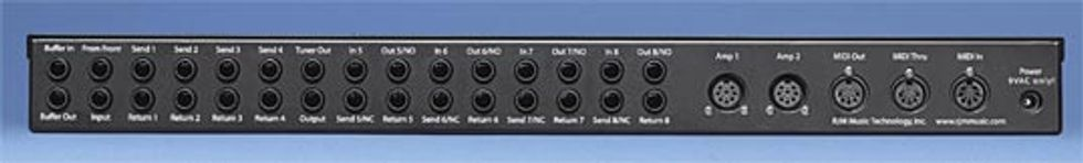 RJM RG-16 Audio/Function Switcher