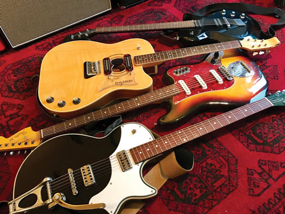 The Recording Guitarist: Big Bad Baritone