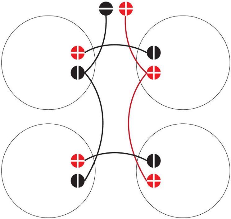 Speaker Geeks: Wiring Up a 4x12 Cab - Premier Guitar   Speakers Wiring Diagram For 8      Premier Guitar