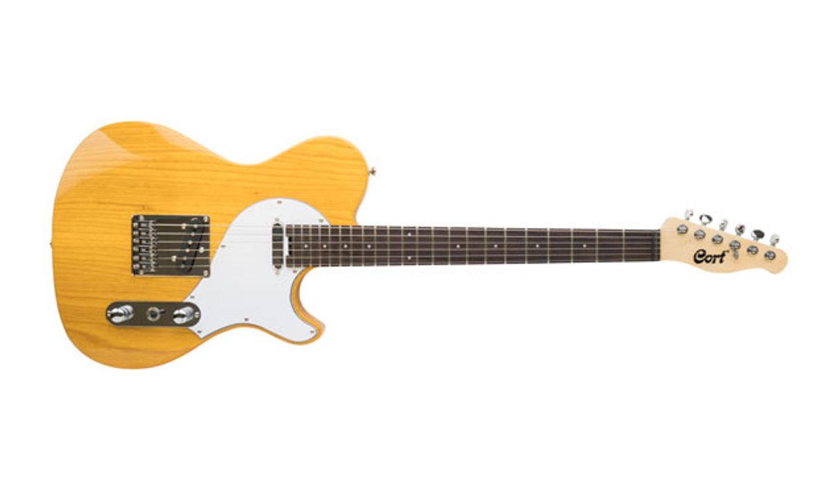 Cort and Manson Guitar Works Unveil Classic TC Guitar