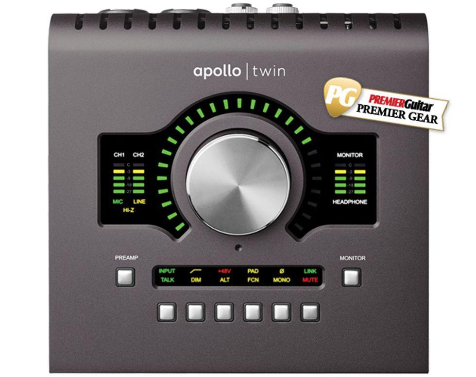 Universal Audio Apollo Twin MkII Review | Premier Guitar