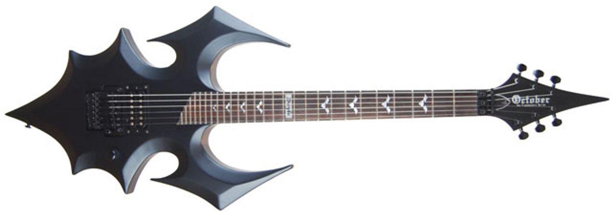 Oktober Guitars Introduces Doyle Wolfgang Von Frankenstein Annihilator Guitar