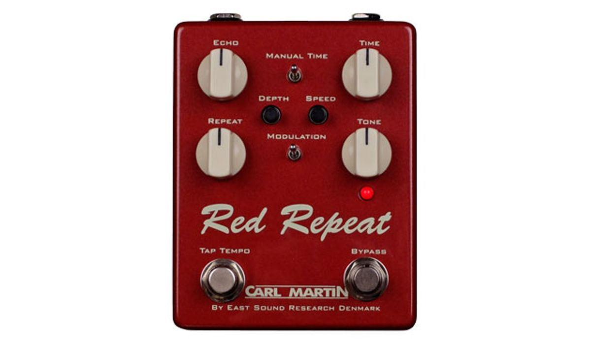 Carl Martin Announces the Red Repeat 2016 Edition