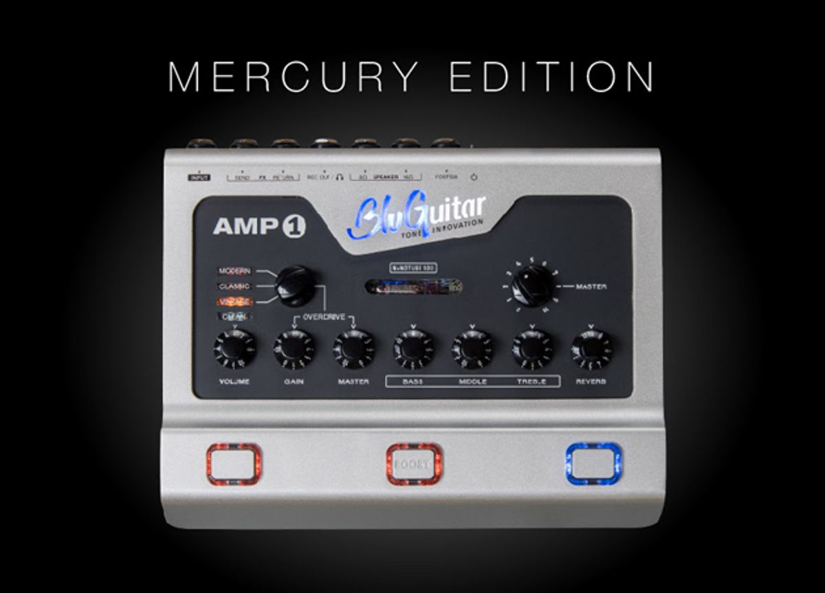 BluGuitar Releases the AMP1 Mercury Edition