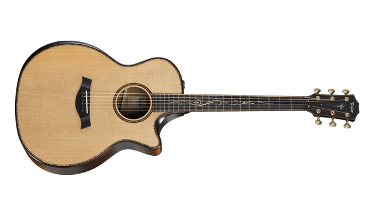 Taylor Guitars Unveils Builder's Edition Model Featuring V-Class Bracing