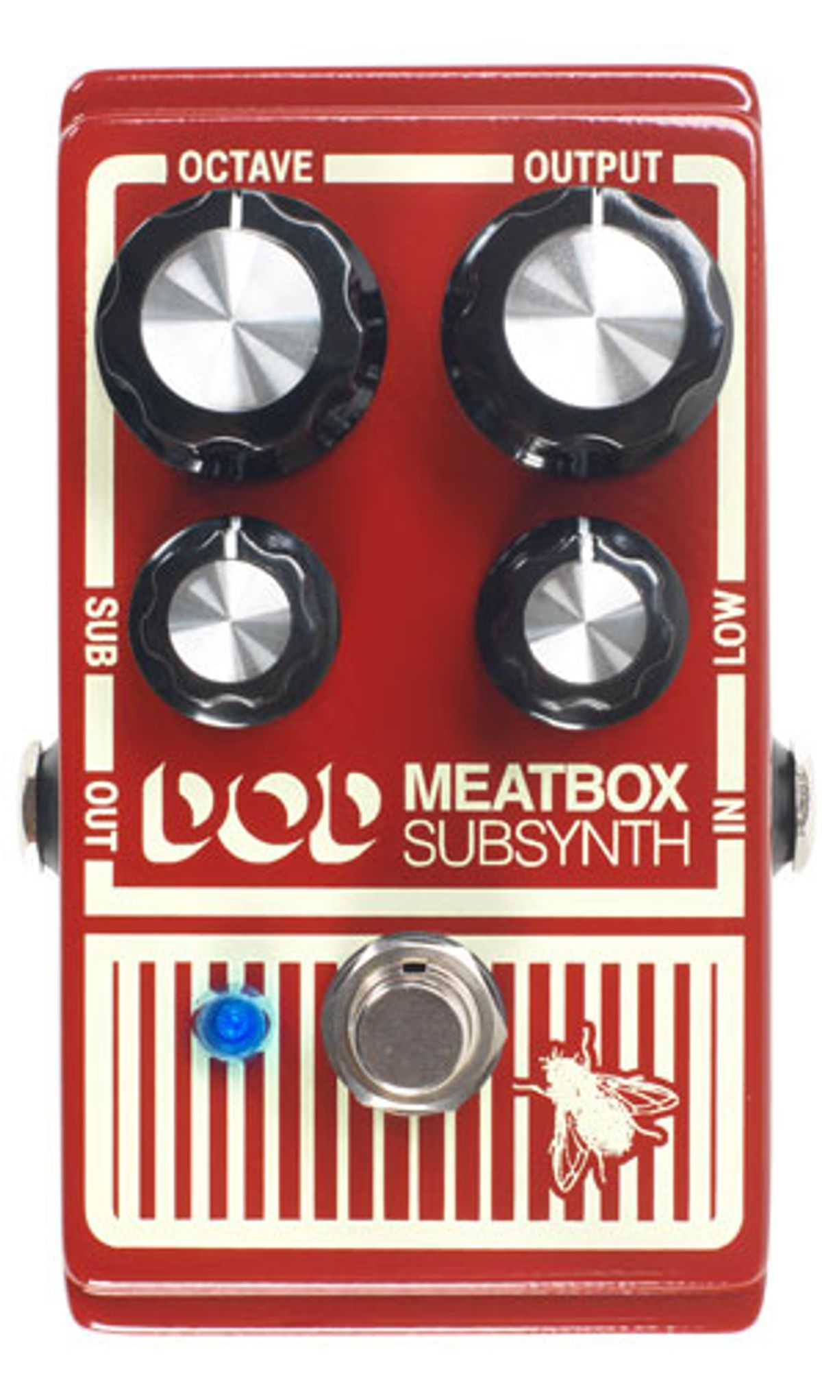 DigiTech Reissues the DOD Meatbox Subharmonic Bass Synthesizer