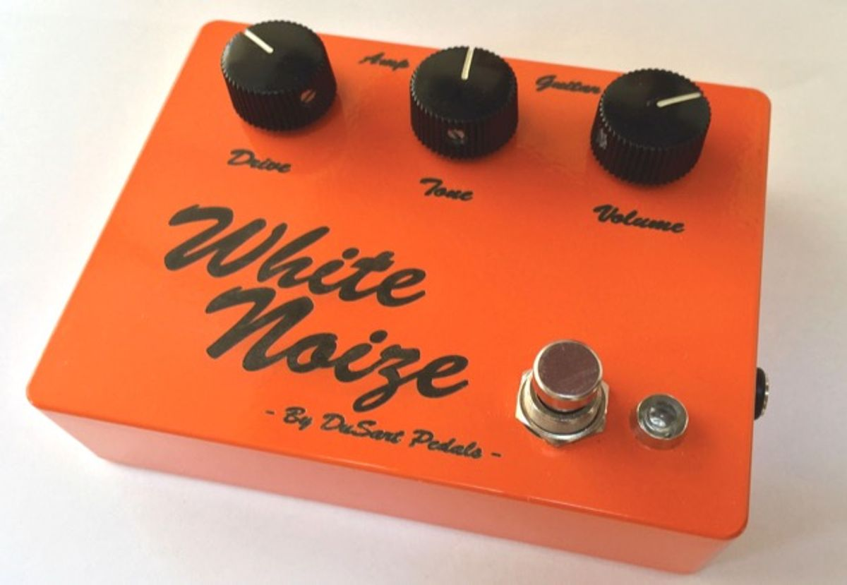 DuSart Pedals Unveils the White Noize Overdrive
