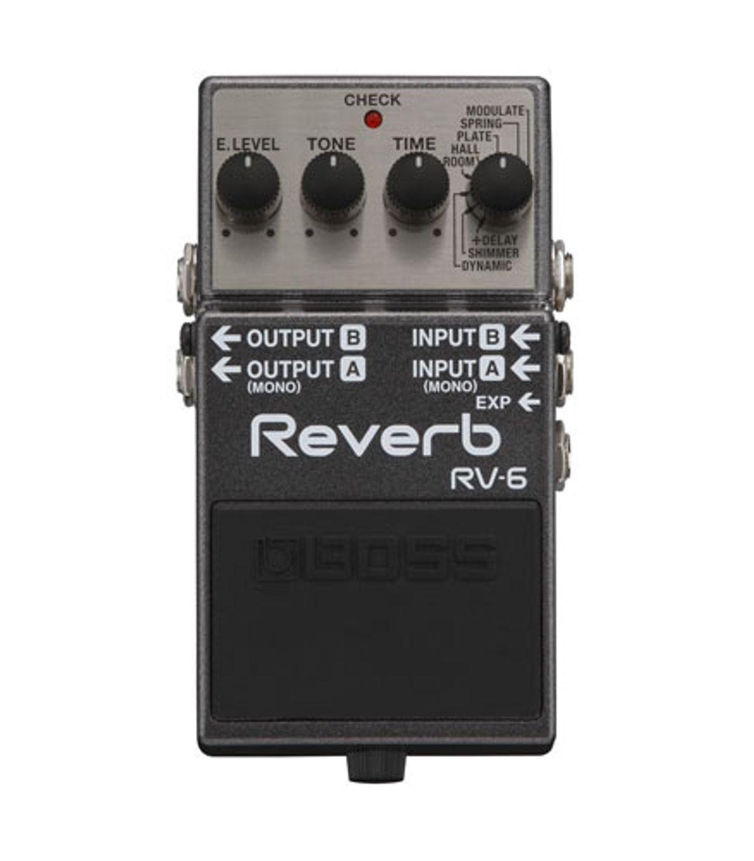 Boss Announces the RV-6 Reverb and DD-500 Digital Delay